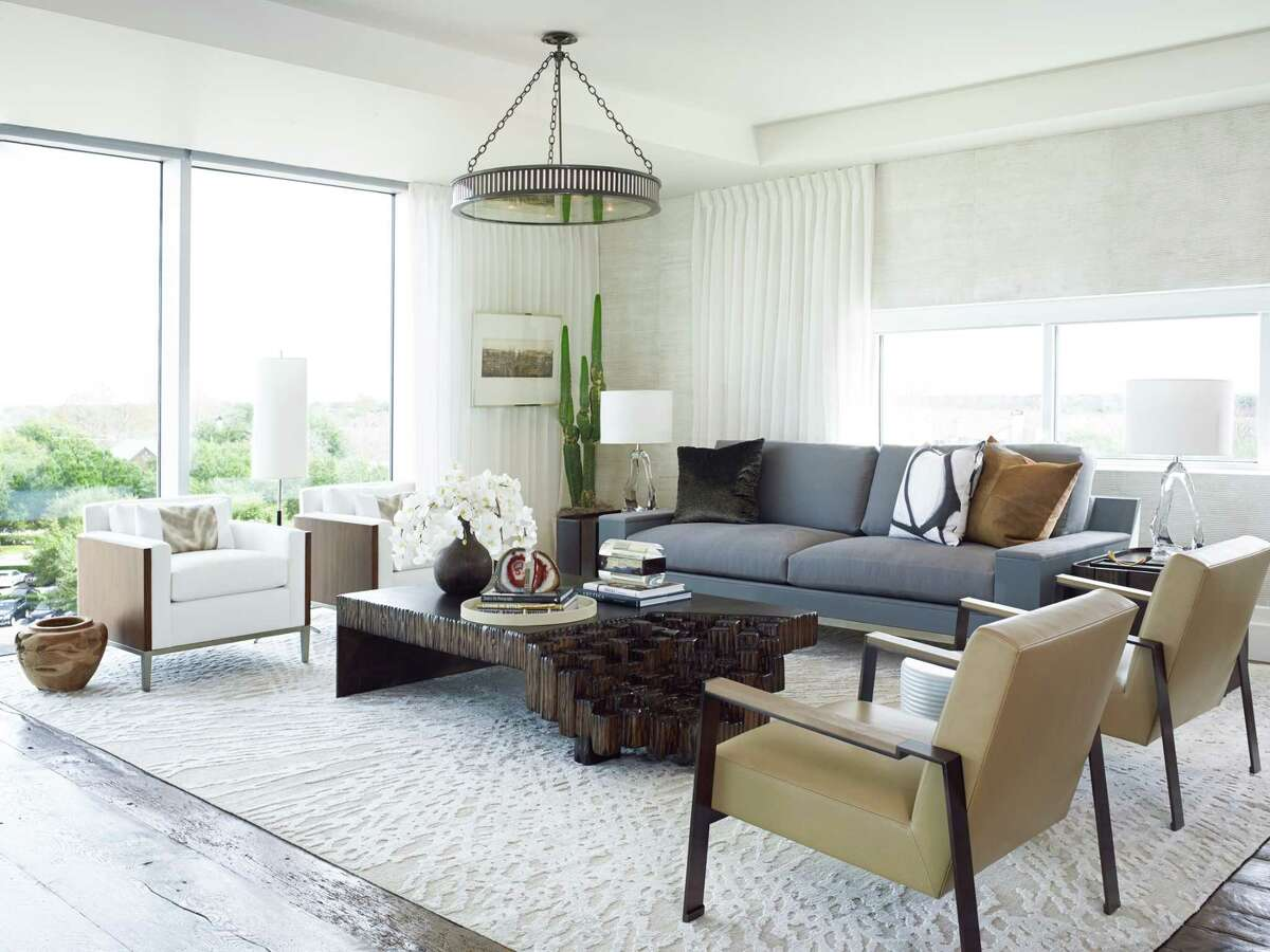 This second floor space provides space for a small group.