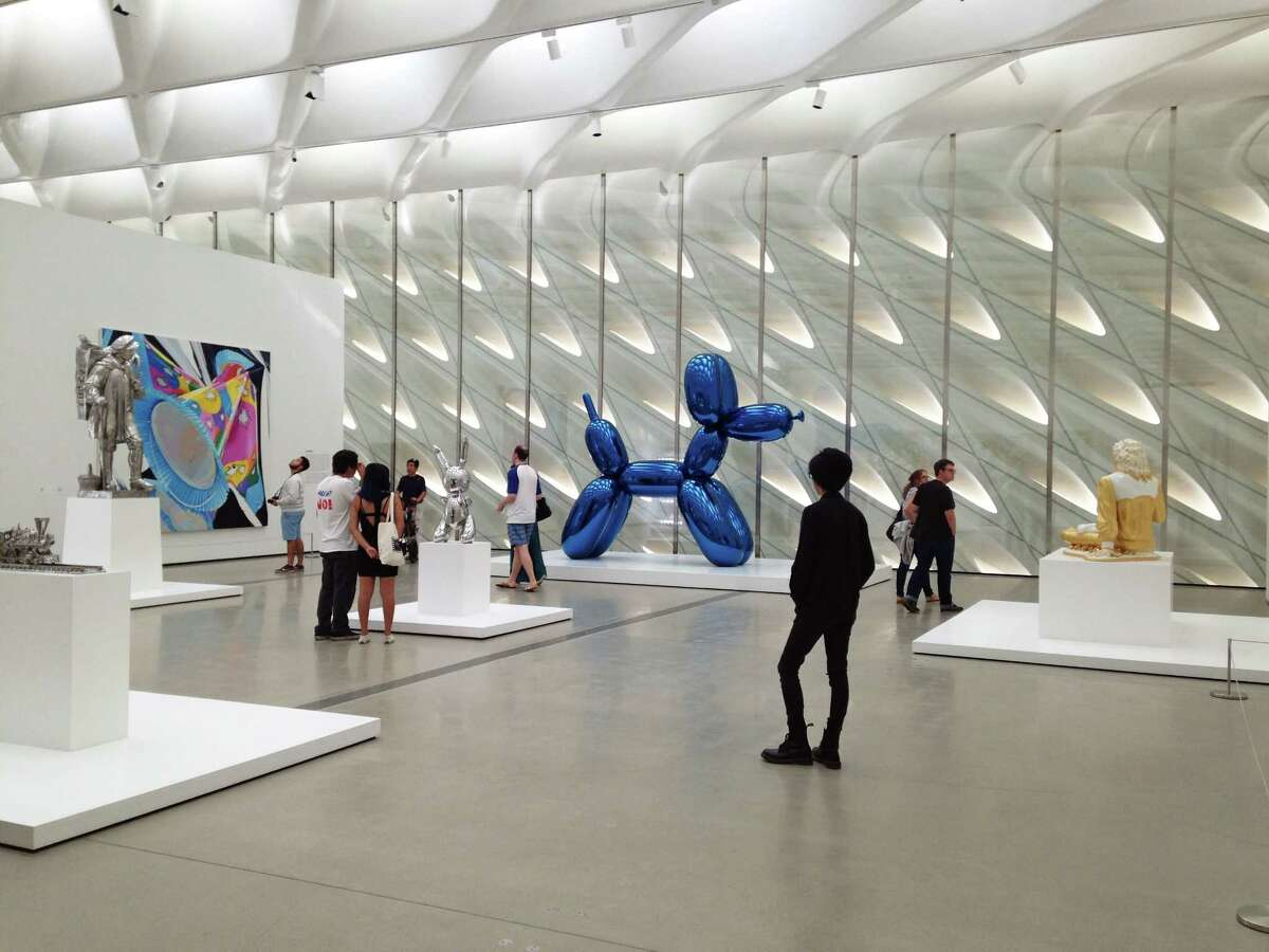 The Broad's third-floor galleries feature a rotating selection of works from the museum's collection.