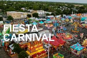 Fiesta Carnival:  A free favorite of Fiesta-goers.