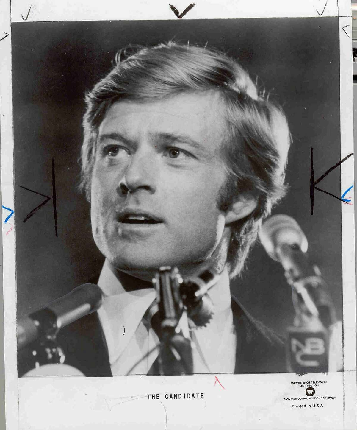 Robert Redford in The Candidate