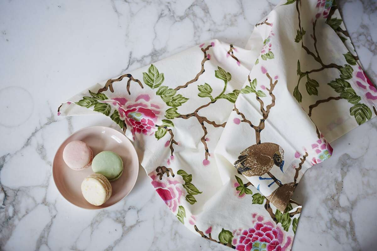 Fashion designer Erica �Tanov is re-releasing her Lovebirds print in a limited collection of bedding and home accessories. It's available at her boutiques or ericatanov.com.