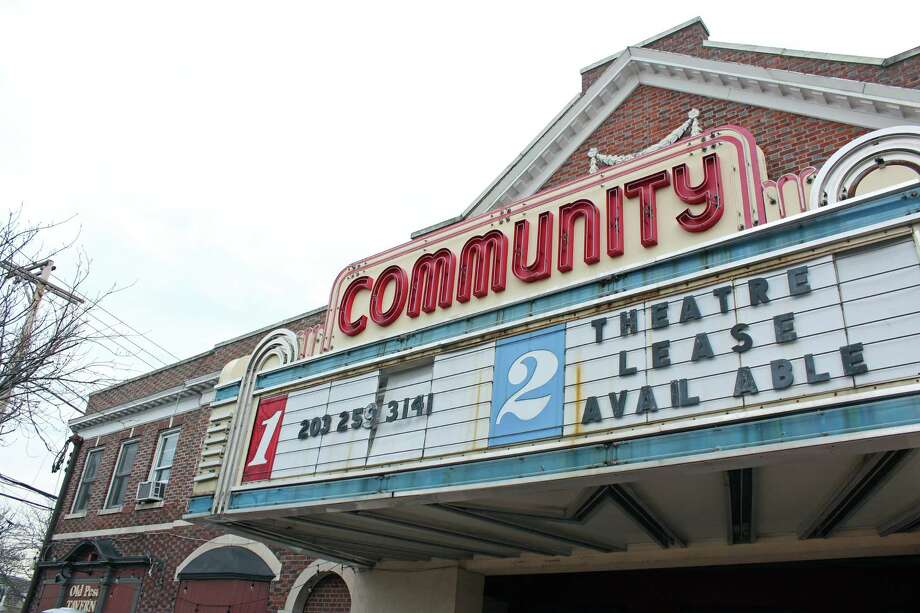 Keith Rhodes, who started an online petition in an effort to get the owner of the Community Theatre to lease or sell the property to a developer, said he has been assured that David Pollack fully intends to sell the theater. Photo: Genevieve Reilly / Hearst Connecticut Media / Fairfield Citizen