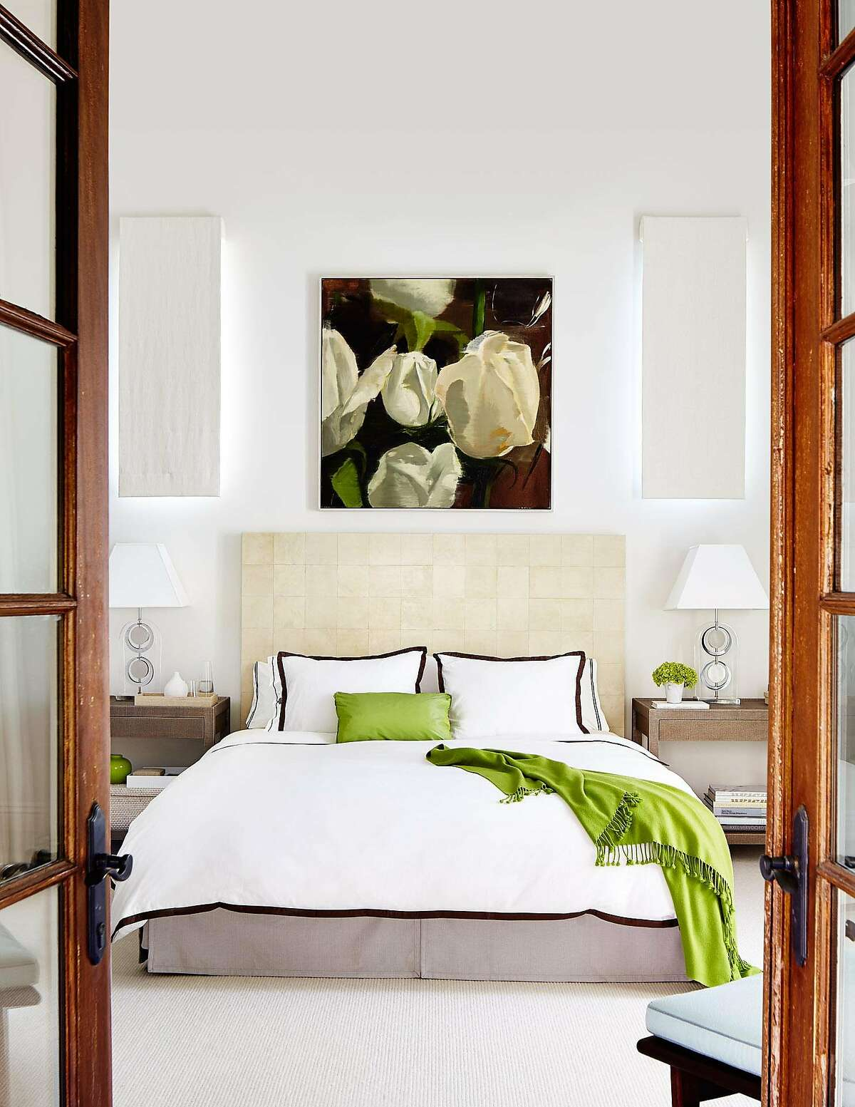 According to San Francisco designer Martha Angus, art can do wonders to perk up a room. �We like bold canvases of color or an abstract swish of paint on a neutral field,� she says. �Crisp white always says �new beginnings� too.� A white duvet in a bedroom or white outdoor slipcovers for the living room sofa are two easy ways she transforms a space. �They can all be thrown in the wash,� says Angus, who also suggests swapping out rugs for something fresh and natural such as jute or seagrass.