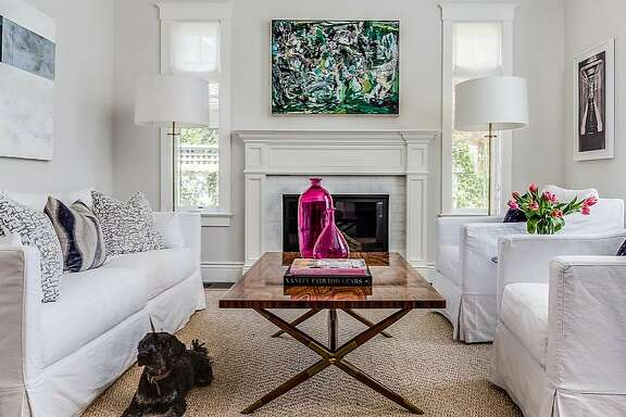 Spruce up walls  �Changing out paint colors is a quick and easy way to give a room a new look,� says Nancy Evars, principal at San Carlos-based Evars+Anderson. �But if you want to take that idea to the next level, try wallpapering a small space in a fun spring print.� The happy vibe of this Christian LaCroix Butterfly wallpaper, which Evars used in the 2015 San Francisco Decorator Showcase, gives a mundane laundry room more flutter.