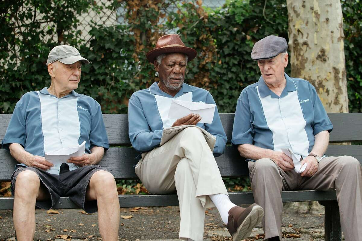 Morgan Freeman, Alan Arkin, and Michael Caine star in