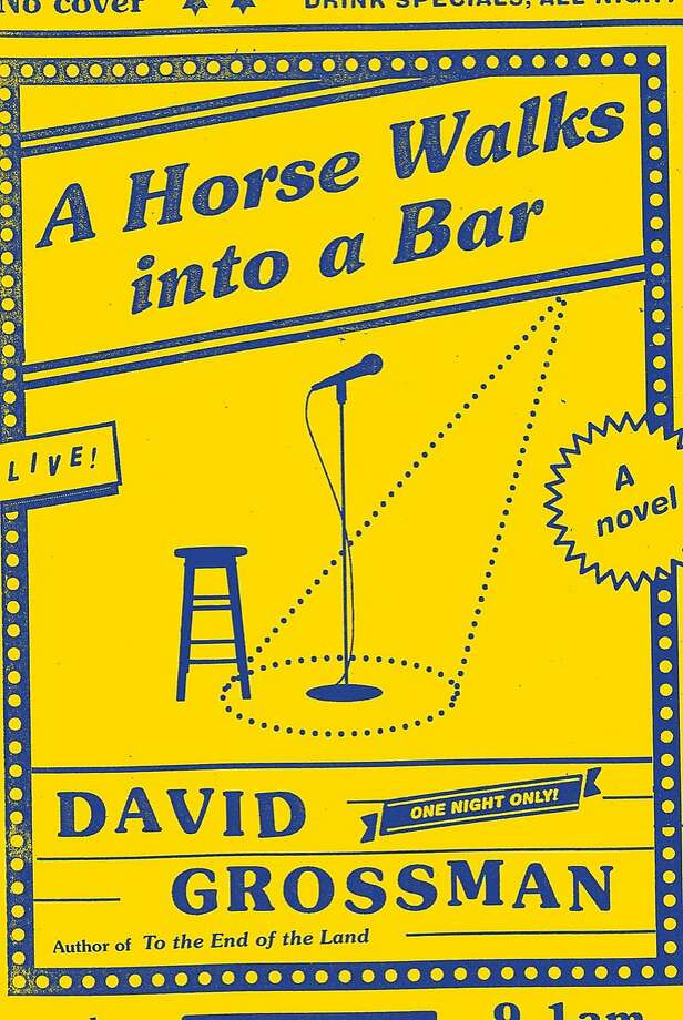 """A Horse Walks Into a Bar"" Photo: Knopf"
