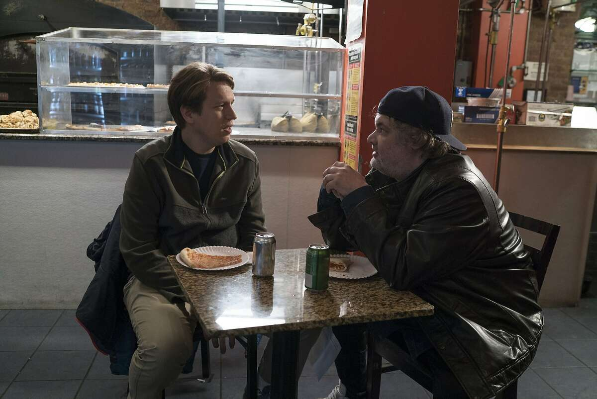 Pete Holmes and Artie Lange in a scene from the television series