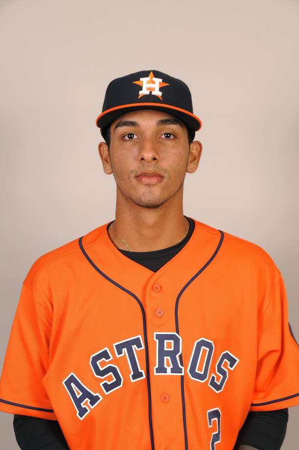 Astros minor leaguer Jonathan Arauz was suspended 50 games after testing positive for methampetamine use. Photo: Houston Astros