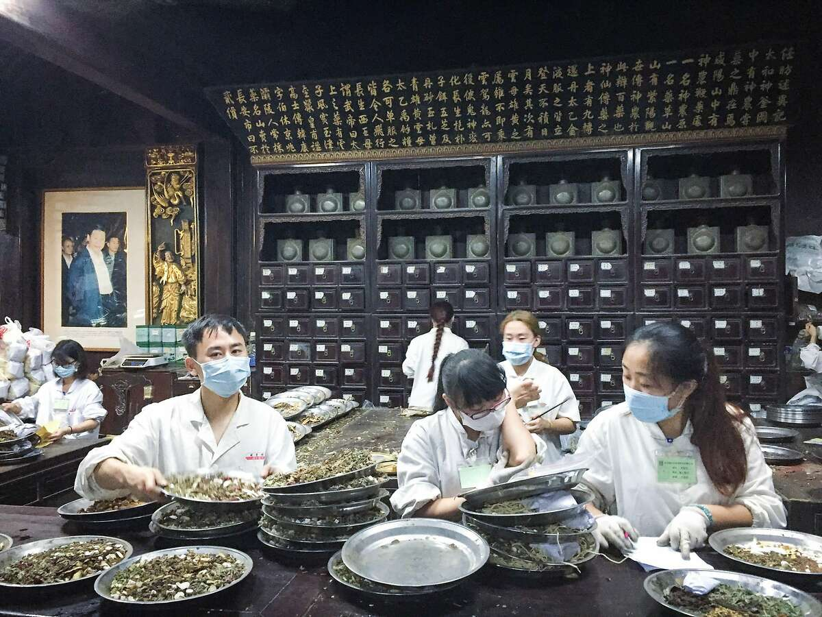 The Hu Qing Yu Tang Chinese Medicine Museum houses displays of medicine making, as well as a working dispensary used by patients today.