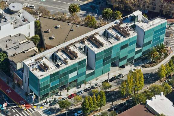 The 47-unit 8 Octavia building, designed by Stanley Saitowitz, is one of San Francisco's most distinctive new works of architecture.