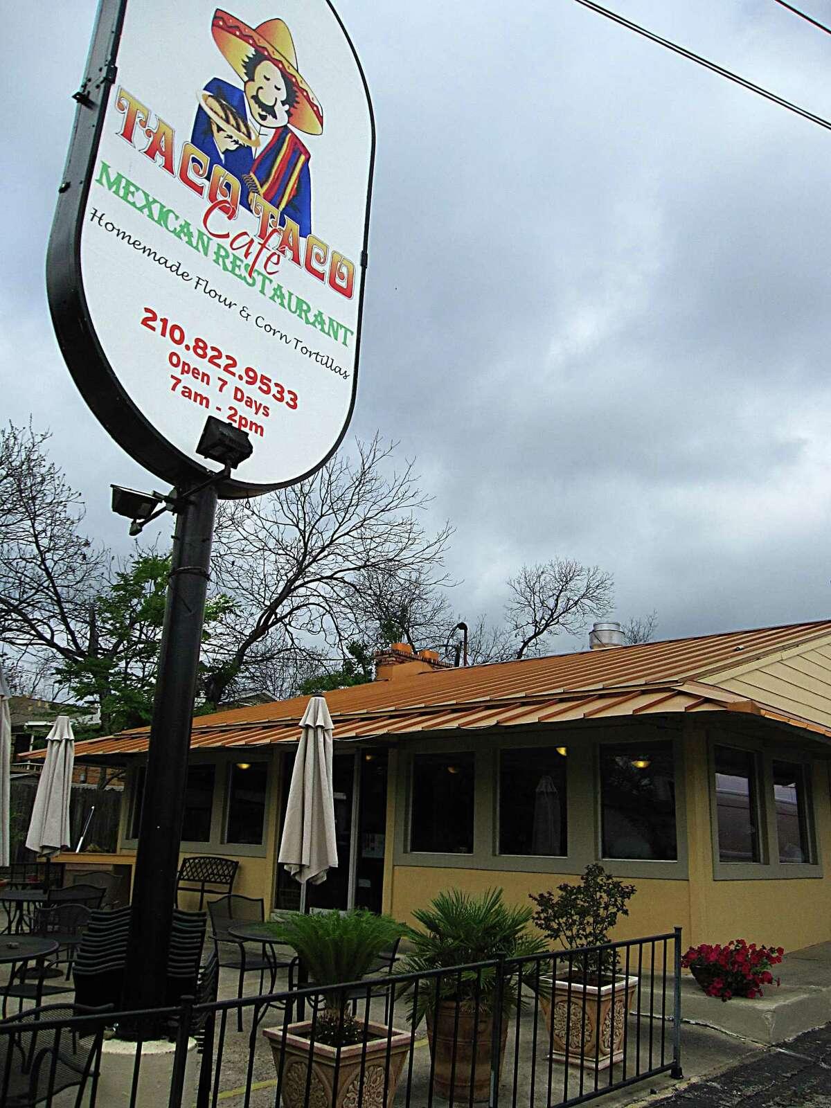Taco Taco Cafe on East Hildebrand Avenue.