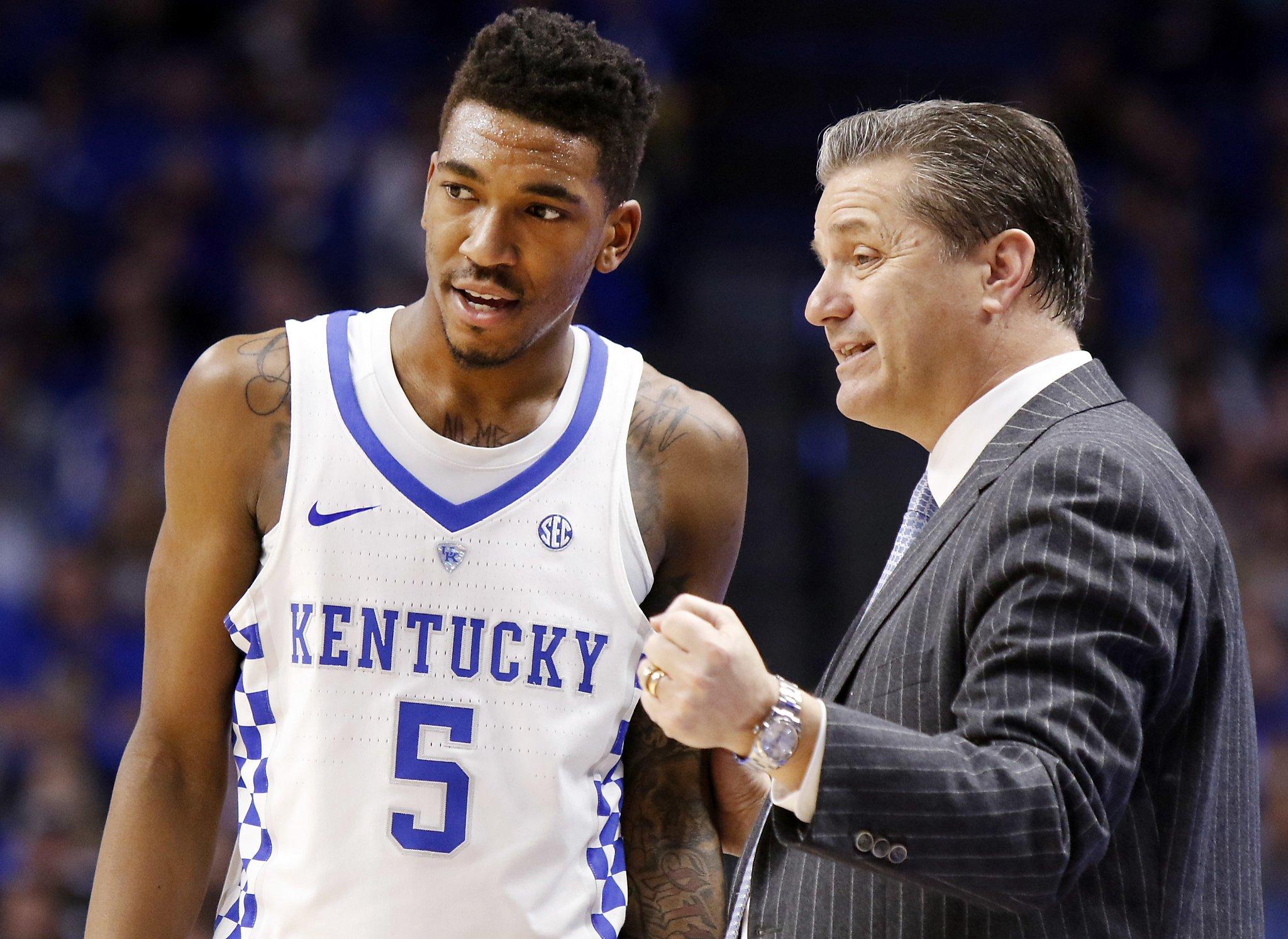 Uk Basketball: Kentucky's Malik Monk To Enter NBA Draft