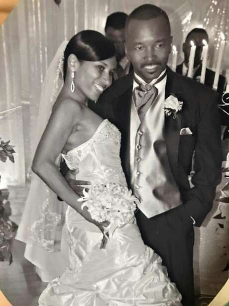 Jackie Davis-Delane and Patrick Delane, shown here in 2007 wedding pictures, were both killed by a wrong-way driver Sunday morning. Photo: Submitted Photo