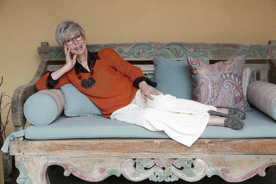 "Berkeley resident Rita Moreno has received a raft of awards since earning an Oscar for ""West Side Story.""  Photo: Liz Hafalia, The Chronicle"