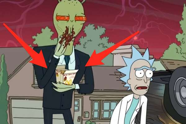 """A scene from Adult Swim's """"Rick and Morty"""""""