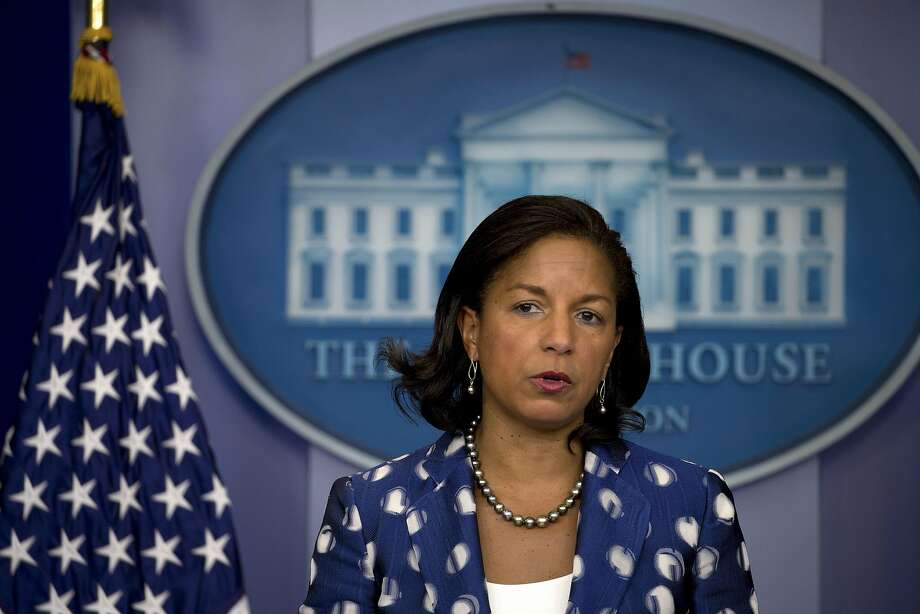 Ex-national security adviser Susan Rice denied reports in conservative media that she had sought to learn the identities of Donald Trump's associates. Photo: STEPHEN CROWLEY, NYT