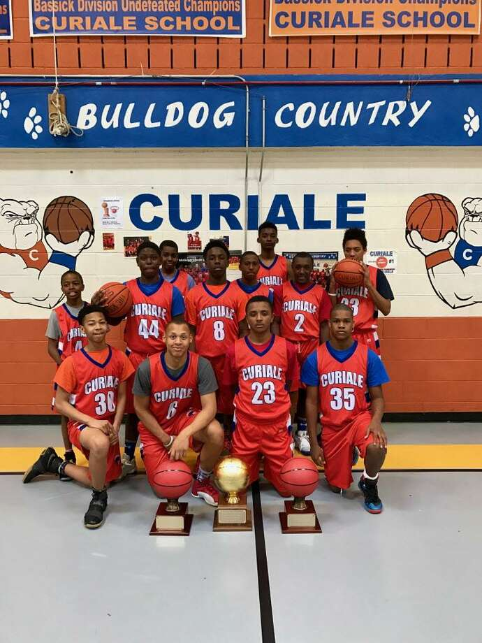 Curiale Boys Basketball Team wins city Middle School crown Photo: Contributed / Contributed