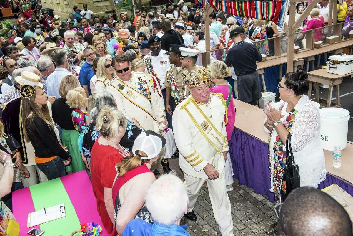 The 2016 King's Party at NIOSA during Fiesta week La Villita on April 19, 2016.