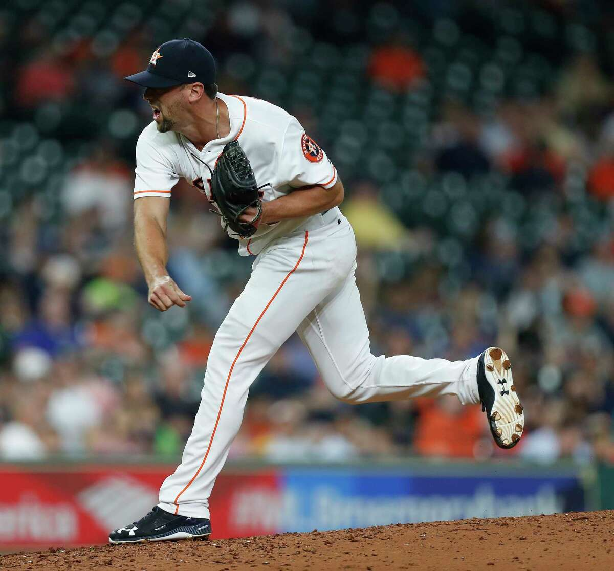 Houston Astros relief pitcher Luke Gregerson is trying to rediscover the movement on his sinker.