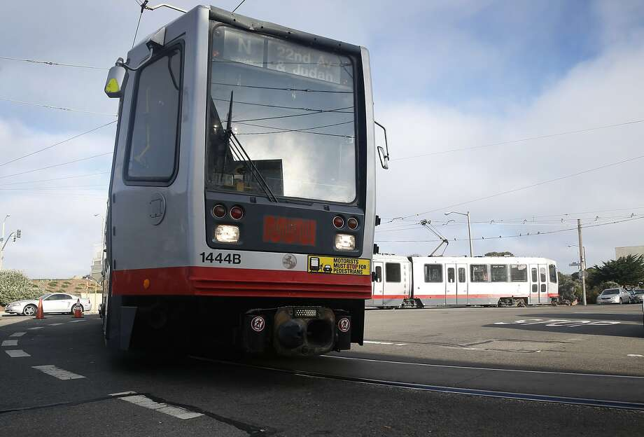 A Muni N-Judah streetcar turns around at La Playa Street for a return trip downtown in San Francisco, Calif. on Thursday, Aug. 27, 2015. Muni is getting ready to roll out a second round of major service improvements systemwide. Photo: Paul Chinn, The Chronicle