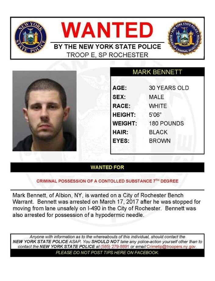 Mark Bennett, 30. (State Police)