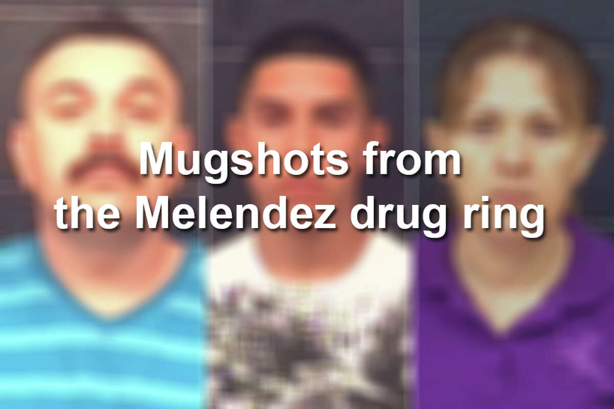 The Melendez drug ring was responsible for distributing crack cocaine throughout the Laredo area. Click through this gallery to see their mugshots.