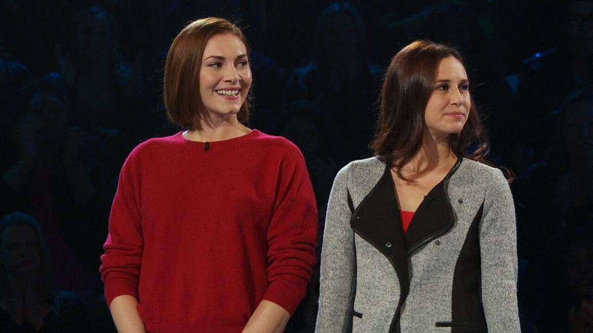 Emily Rutan, left, and Tessa Rapaczynski on