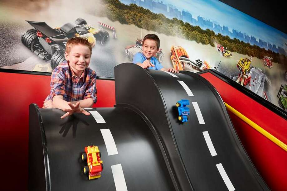Legoland Discovery Center is aimed at attracting families with kids age 3 to 10 by offering entertainment options like Lego-themed rides and play areas, a 4D cinema and party rooms. Photo: Courtesy /Ashkenazy Acquisition Corp.