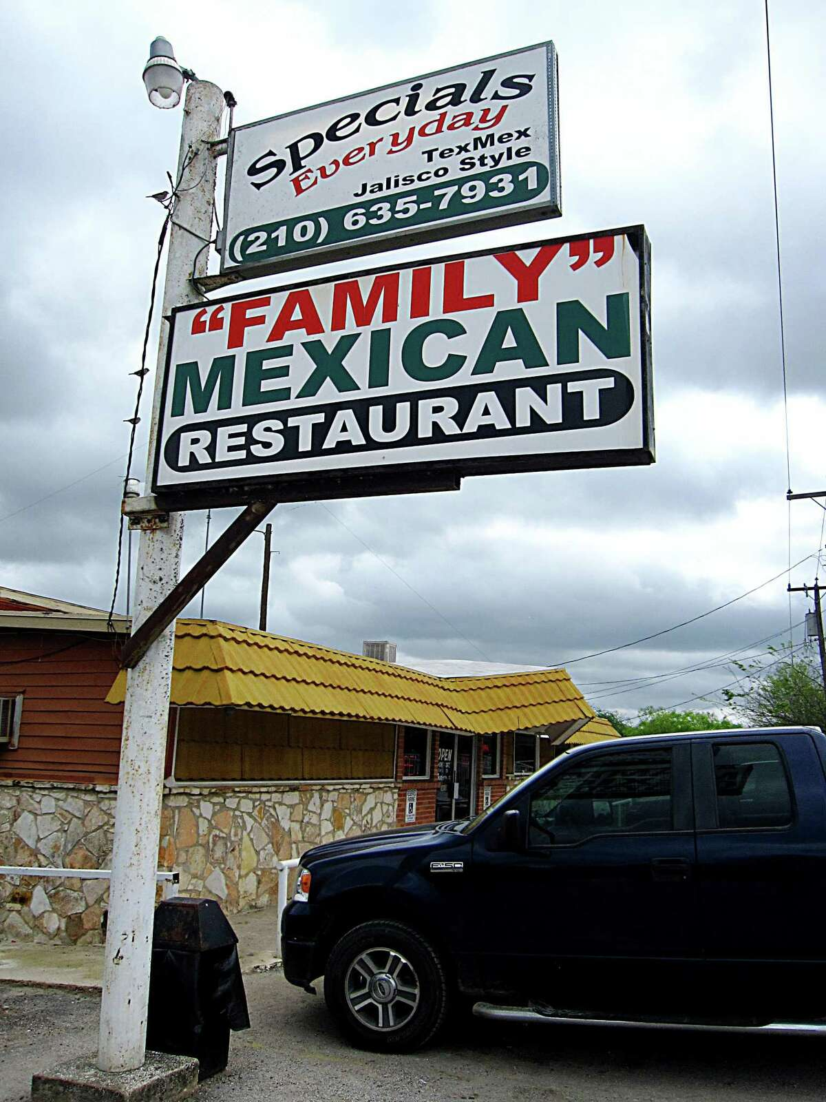 Family Mexican Restaurant on U.S. 181 South.