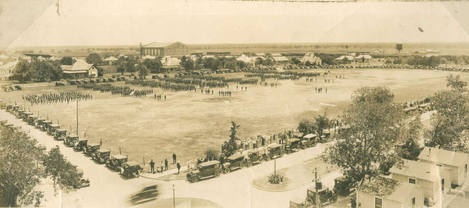 Click ahead to view vintage photos from College Station and Texas A&M's past.CIRCA 1920: The Texas A&M drill field. Photo: Project HOLD / City Of College Station