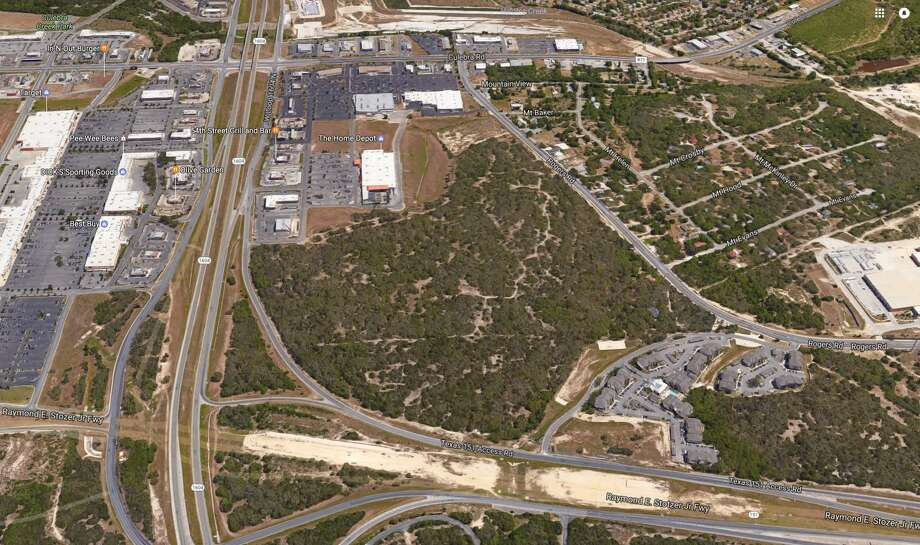 Methodist Healthcare System of San Antonio has purchased 24 acres of vacant land at the crossing of Loop 1604 and Highway 151. Photo: Google Maps