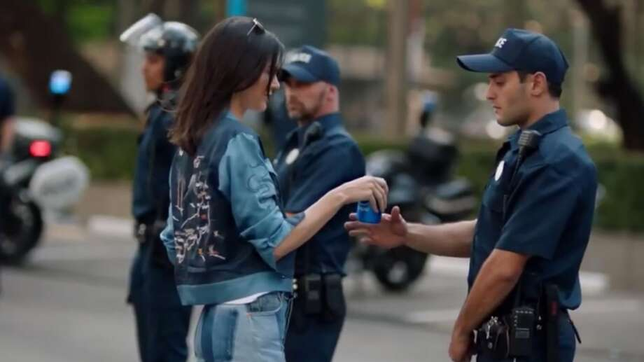 Pepsi has pulled this controversial Kendall Jenner ad and issued an apology. Photo: Pepsi