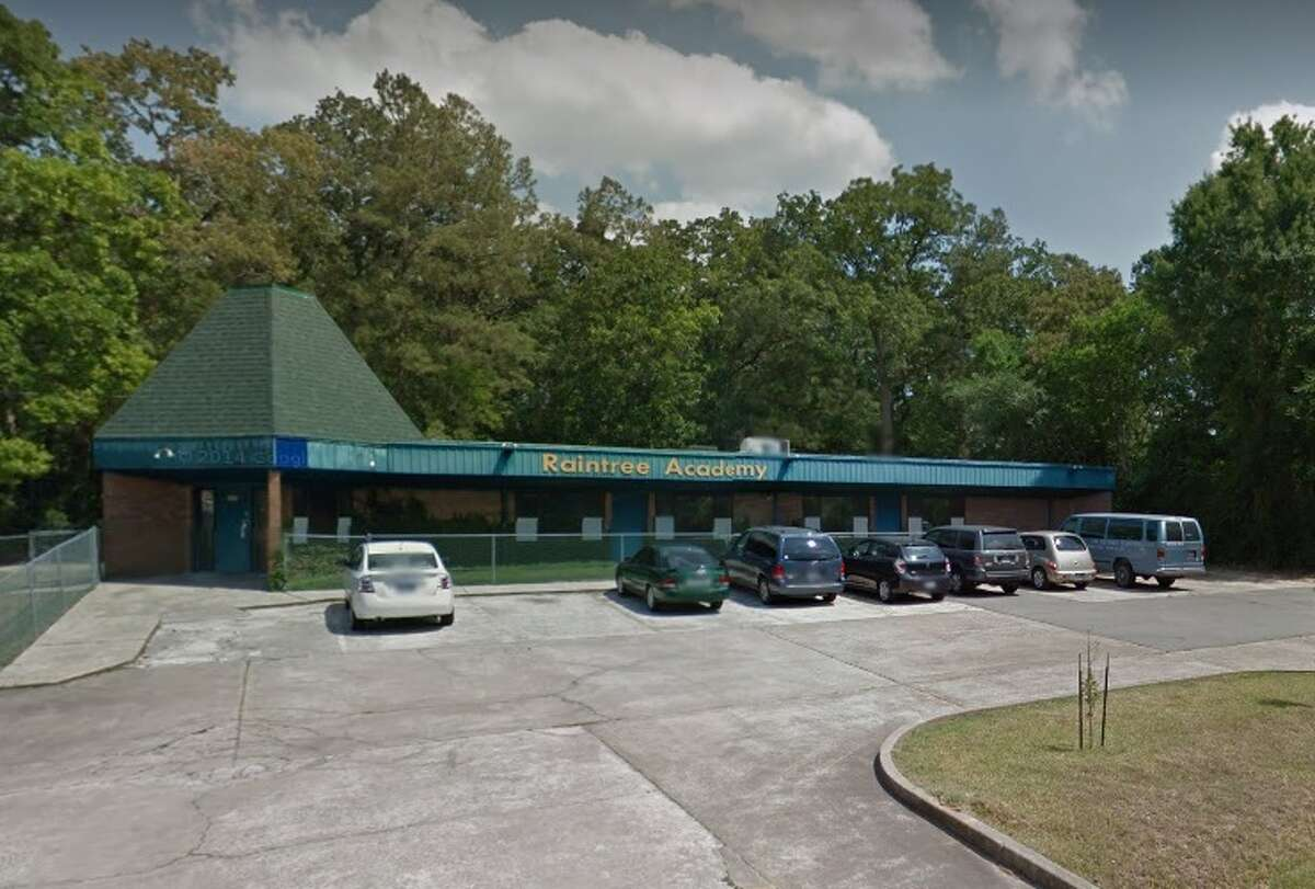 Raintree Academy4515 Treaschwig Road, Spring Sept. 13, 2016 - A live roach was photographed in a boys' bathroom. Aug. 24, 2016 - Ceiling tiles had water damage, a baseboard was pulling away from the wall and there was damage to a wooden fence. Jan. 19, 2016 - Splintered landscape timber and exposed nails were seen on the playground.