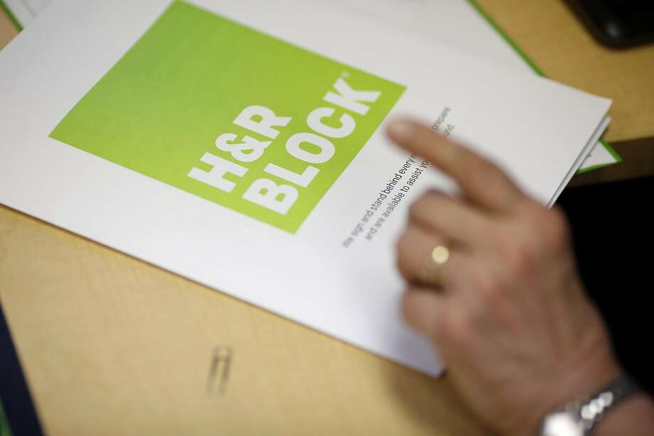 H&R Block is one of the largest tax return preparers in the U.S. Photo: Luke Sharrett, Bloomberg