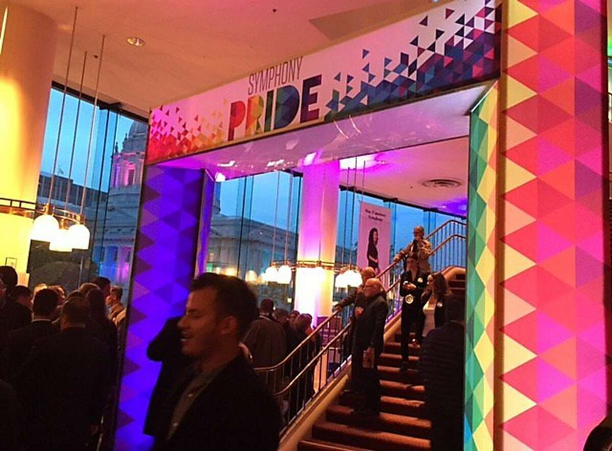 Davies Hall gussied up for 'Symphony Pride' concert