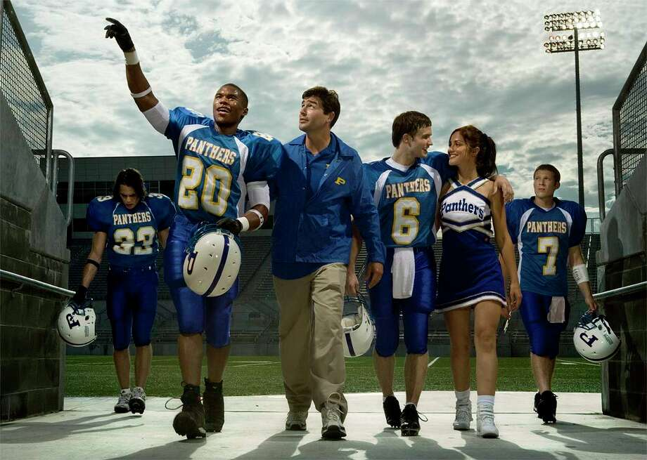 PHOTOS: The best fictional Texas cities  The beloved football series was based on the fictional movie that was based on the nonfiction book of the same name. While the series was set in the fictional west Texas town of Dillon, the book followed the very real football culture in Odessa.  >>>See more of the best fictional cities in Texas... Photo: Michael Muller, © NBC Universal, Inc. / © NBC Universal, Inc.