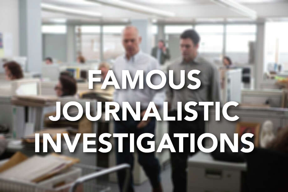 Here are some of the most famous investigations of all time, as journalists uncovered corruption and scandal that led to change.