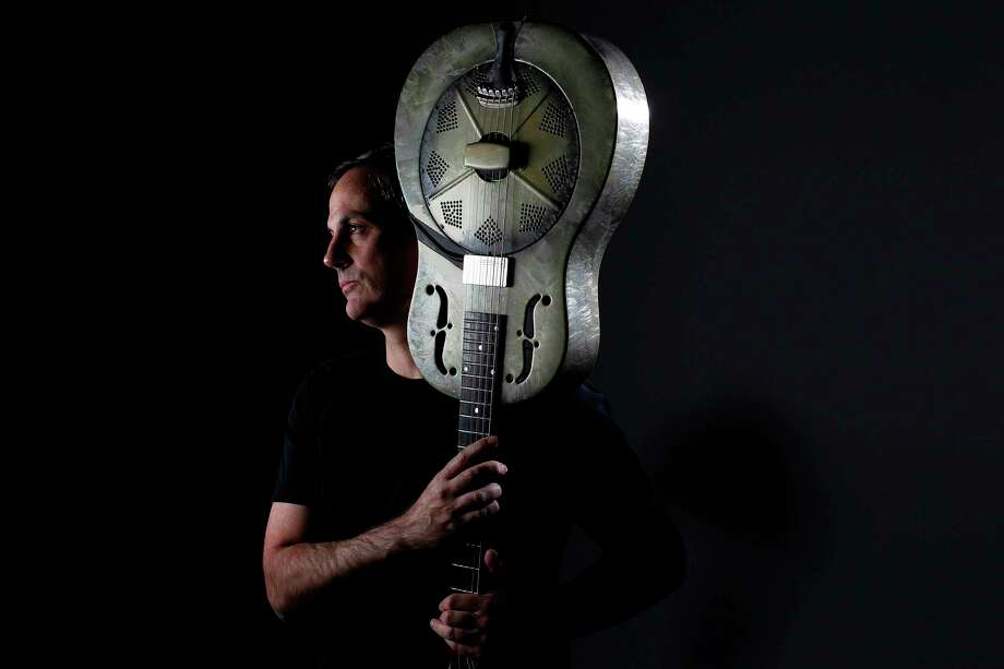Local bluesman John Egan takes the title of his 10-song album from an antiquated nickname for Houston. Photo: Mayra Beltran, Staff / © 2012 Houston Chronicle