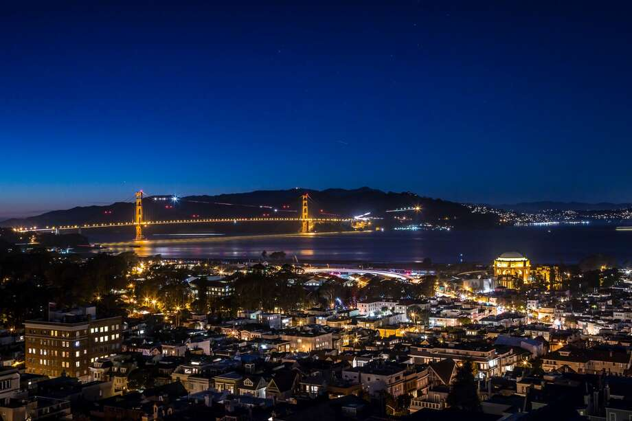 A power outage has been reported this evening in San Francisco, according to the San Francisco Department of Emergency Management. Photo: Jacob Elliott