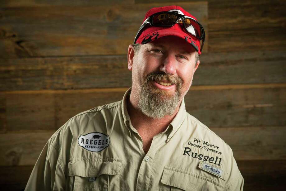 PHOTOS: Meet the faces of Houston barbecueRussell Roegels, of Roegels Barbecue Co., has served up barbecue for the George H.W. Bush Secret Service detail while the former president is recuperating at Houston Methodist Hospital. Click through to meet some of the faces behind Houston's best barbecue...  Photo: Brett Coomer, Staff / © 2017 Houston Chronicle
