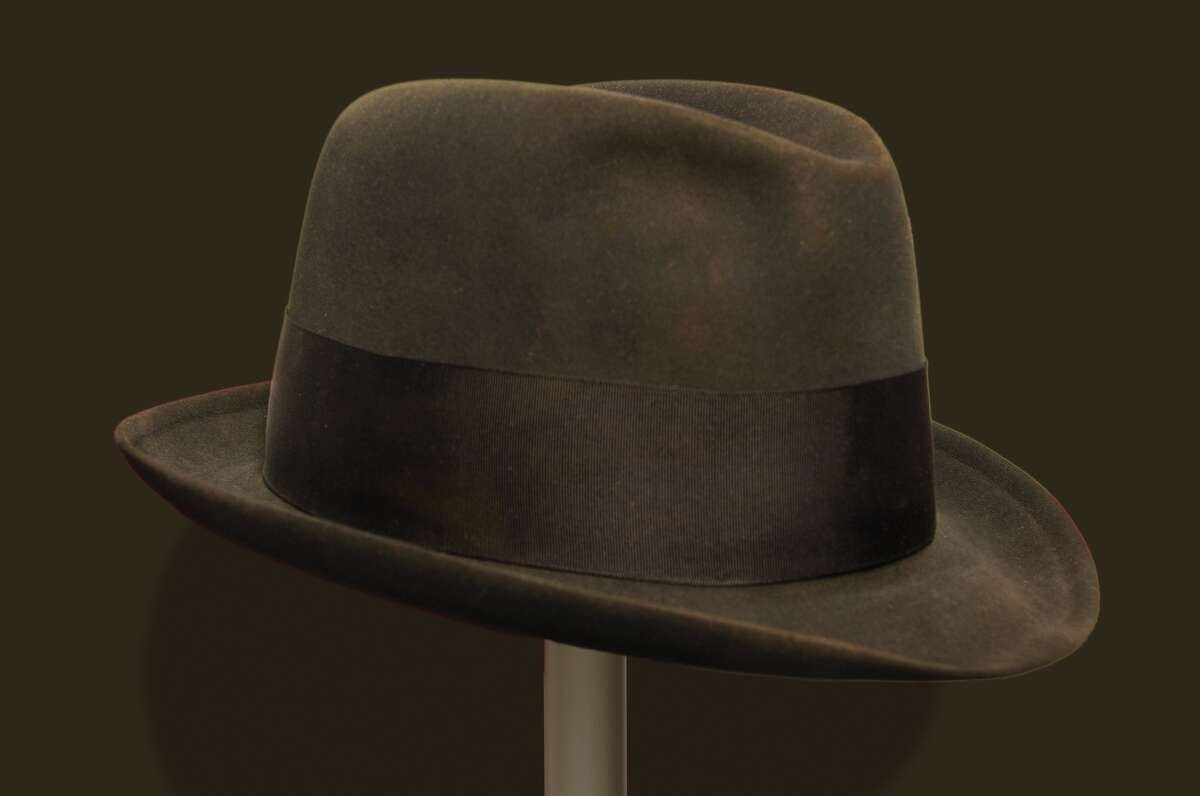 Hoover's hat J. Edgar Hoover's fedora-the hat style traditionally associated with the iconic G-Man image. John Edgar Hoover entered on duty with the Department of Justice on July 26, 1917 and rose quickly in government service.