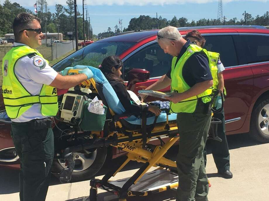 Charlton-Pollard students were returning from Big Thicket when the accident occurred on U.S. 69 at West Walton Road.