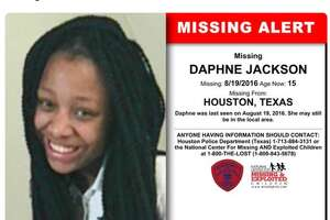 Daphne Jackson, 15, who was struck and killed by a van in northwest Harris County on April 2, 2017 after escaping CPS care, had been listed as a missing child in 2016.