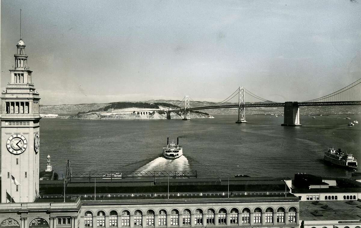 Ferry leaving San Francisco. July 27, 1958