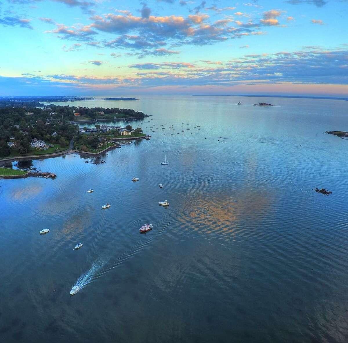 Byram and the shoreline.