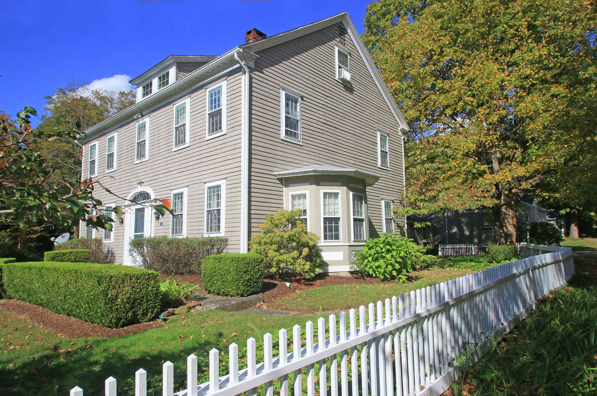 """James Thurber's historic home in Newtown, Conn. is on the market. Thurber is known for his writing and cartoons. He wrote """"My Life and Hard Times"""" while living at the house in the 1930s."""