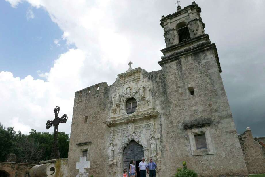 Mission San Jose is the largest of the Spanish missions in San Antonio. The quartet of San Antonio area Spanish missions might become designated as a World Heritage Site. Photo: Billy Calzada, Staff / San Antonio Express-News / San Antonio Express-News