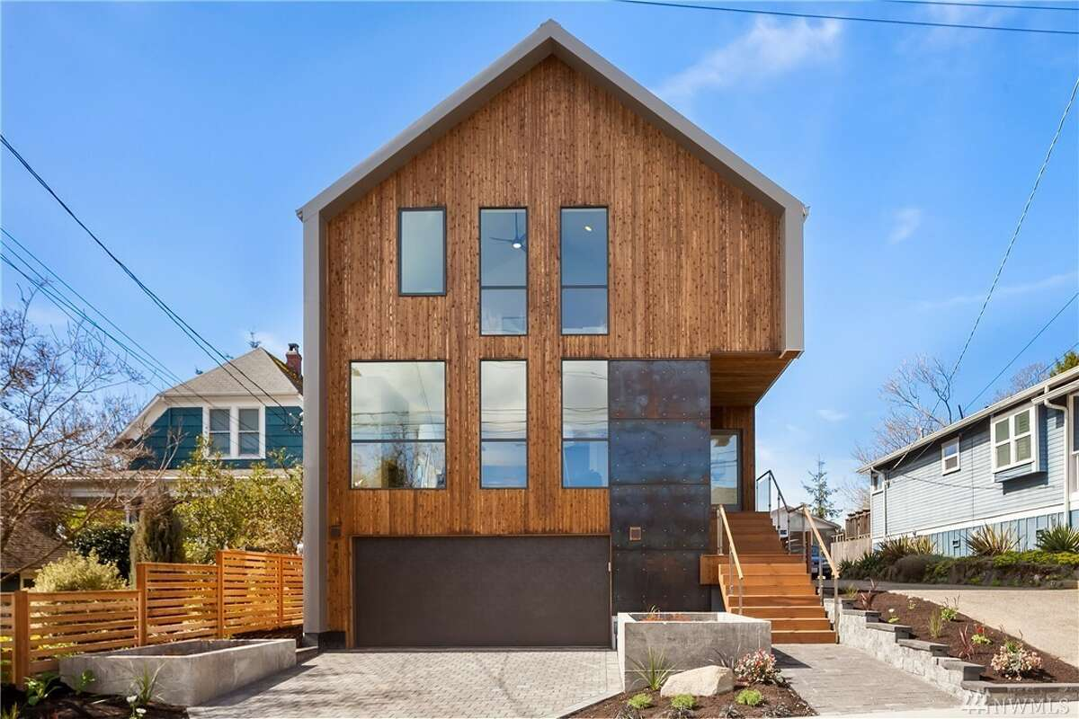This home at 4019 Evanston Ave. N. is listed for $1,999,995. The five bedroom, 4¼ bathroom home is 3,984 square feet and was newly built in 2017. You can see the full listing here.