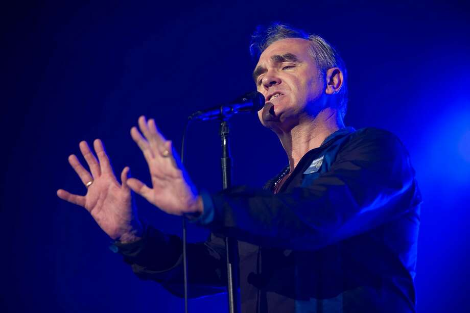 Morrissey performs on stage at Sant Jordi Club on October 10, 2014 in Barcelona, Spain. Photo: Jordi Vidal, Redferns Via Getty Images