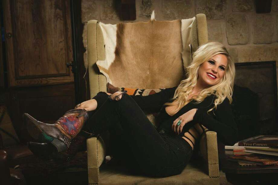 """Singer-songwriter Elaina Kay: """"I can keep up with these boys. The genre is dominated by men, but I'm not gonna let that slow me down. I've sacrificed a lot for music but I give it 100 percent.""""Kay performs at 6:15 p.m. Thursday, May 18. Photo: Facebook: Elaina Kay"""